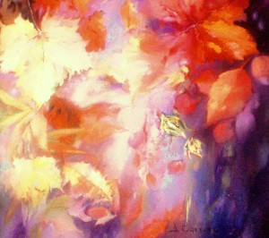 Emozioni e colori olio su tela cm. 30X30
