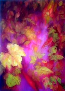 sinfonie della natura olio su tela cm 50x70
